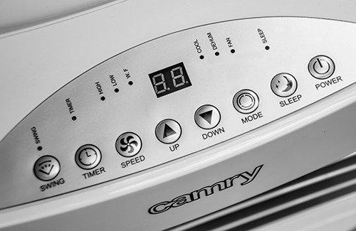 Klimatyzator cr 7902 panel sterowania