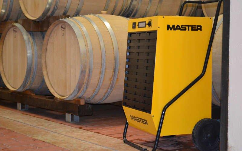 Osuszacz Master DH 752 - zastosowanie w winiarni